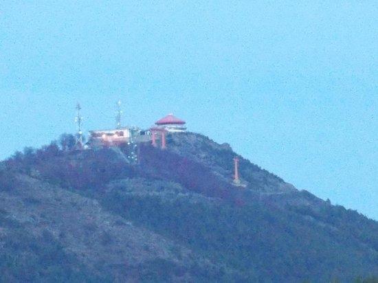 Hotel Crans Montana: La confitería del cerro Otto.