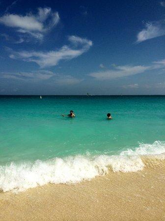 Ocean Club West: Ocean swimming at OCW