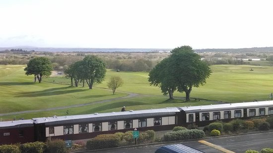 Glenlo Abbey Hotel: View from the room