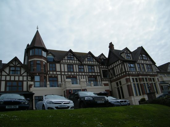 The Woolacombe Bay Hotel: At the front
