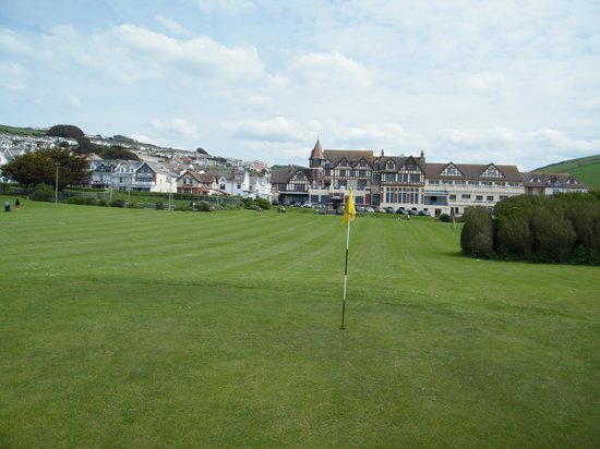 The Woolacombe Bay Hotel: Golf