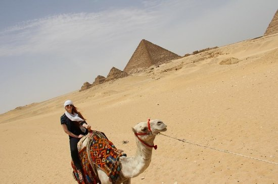 ' Egypt Tailor Made Day Tours: Camel Ride through the Pyramids