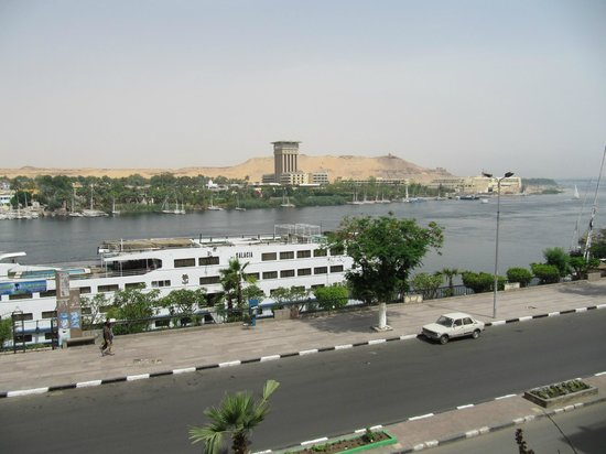 Philae Hotel : The best part of the room - the view