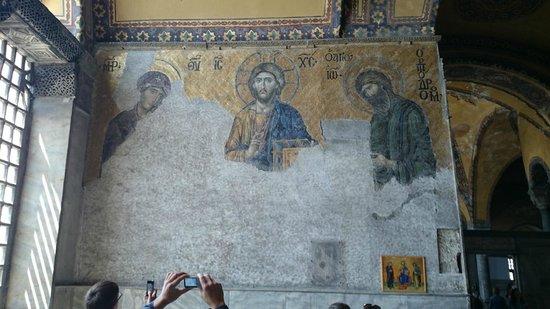 Musée et basilique Sainte-Sophie : Наедине с богом