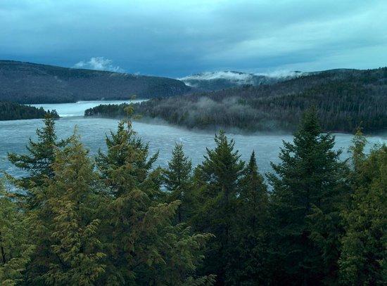 Hotel Sacacomie : Lac des Sacacomie, Quebec