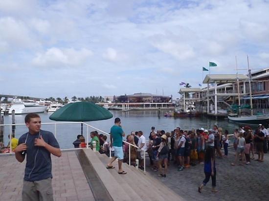 Bayside Marketplace : fila para passeios