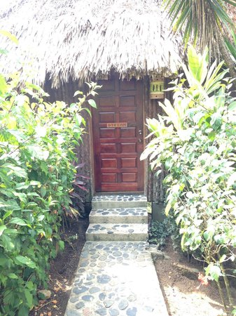 Gaia Riverlodge: Entrance to our cabana