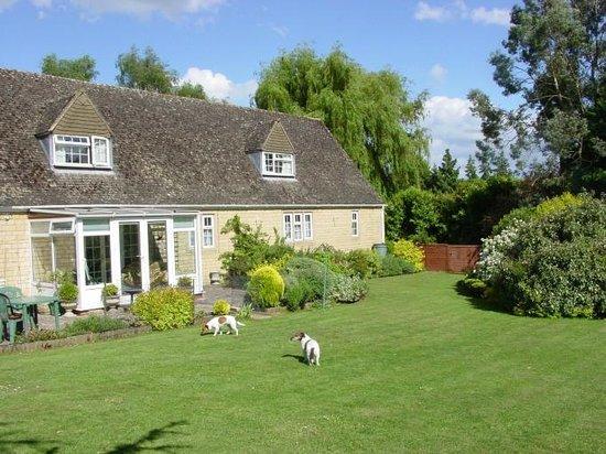 Aston House: Garden with Rhea & Emma
