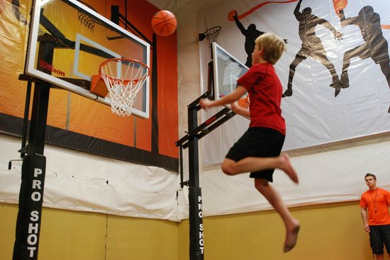 Elevated Sportz Indoor Trampoline Park: I jump high!