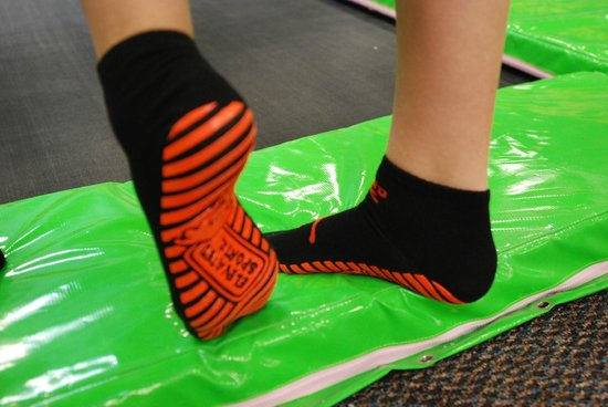 Elevated Sportz Indoor Trampoline Park: Elevated Sportz reusable grip socks