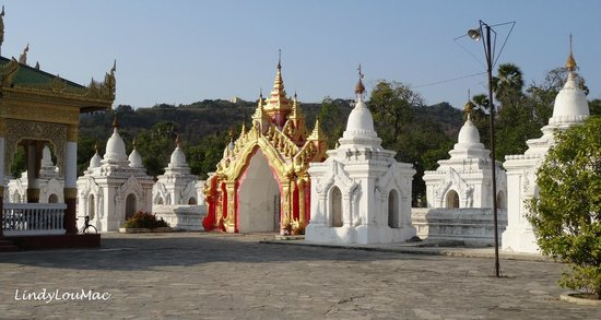 Kuthodaw Pagoda & the World's Largest Book : Just a few of the pages!