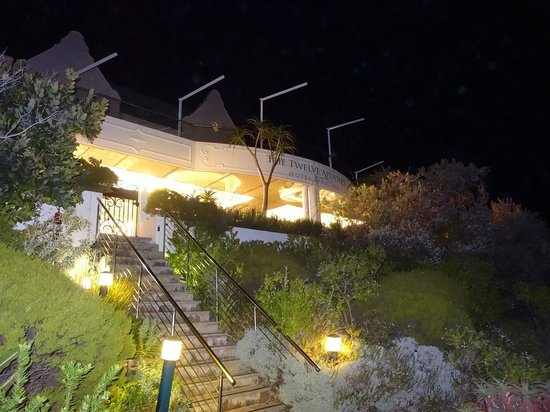 The Twelve Apostles Hotel and Spa: View of 12A from the Road, at night!