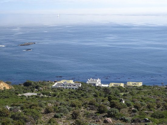 The Twelve Apostles Hotel and Spa: View of 12A from the Mountain Trail