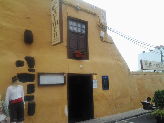 Restaurante El Carmen : Entrada al restaurante