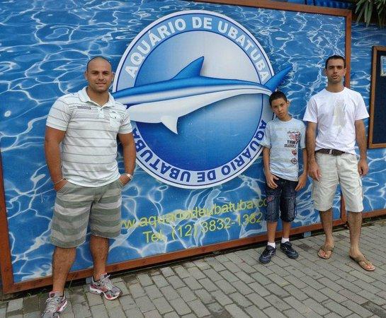 Ubatuba Aquarium: aquario