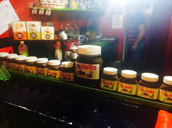 La Crepacabana : So much Nutella!