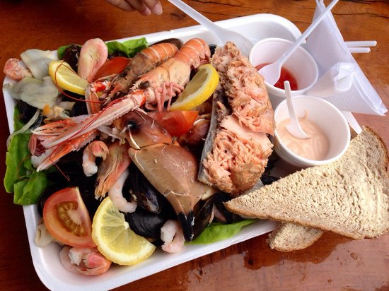Oban Seafood Hut: The best seafood in scotland!