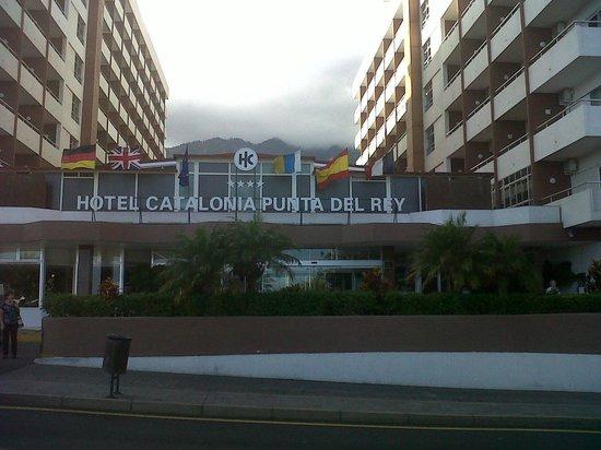 Catalonia Punta del Rey : Entrada al hotel