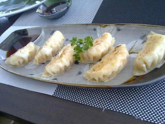 Fuji Sushi: Ravioli di gamberi - buonissimi!