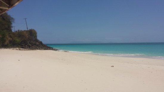 Darkwood Beach : Great beach & views