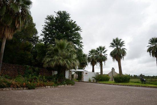 Kalahari Farmhouse: Entrance to Reception