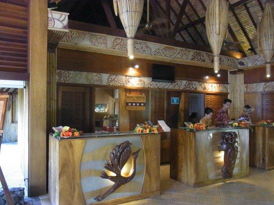 InterContinental Bora Bora Le Moana Resort: フロント