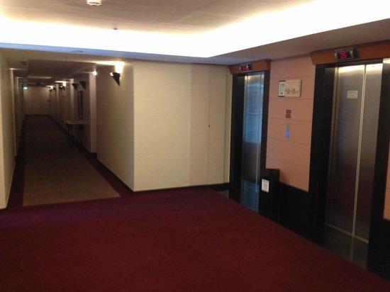 Metropolitan Flat: Hall do elevador