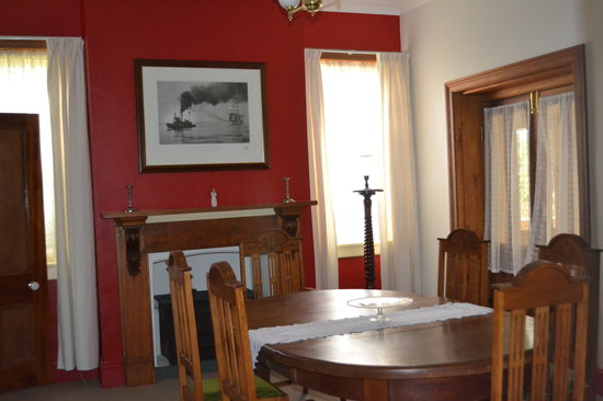 Stoke House Carcoar: Private Dinning Room