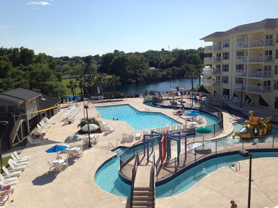 Litchfield Beach & Golf Resort: View from our room