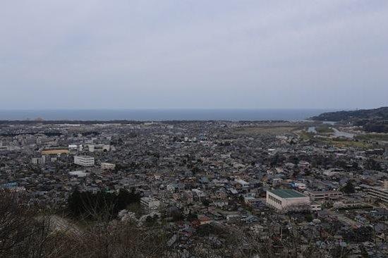 村上城跡, 村上城からの眺め