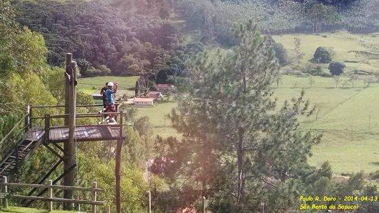 Pousada do Quilombo Resort: Tirolesa