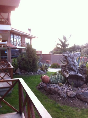 Casa Andina Premium Puno: Vue balcon