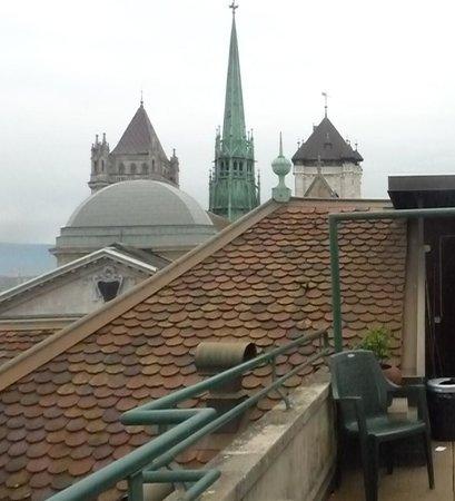 Home St.Pierre: desde la terraza