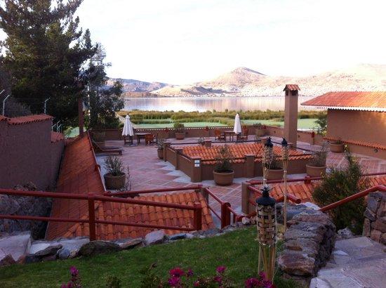 Casa Andina Private Collection Puno : Terrasse