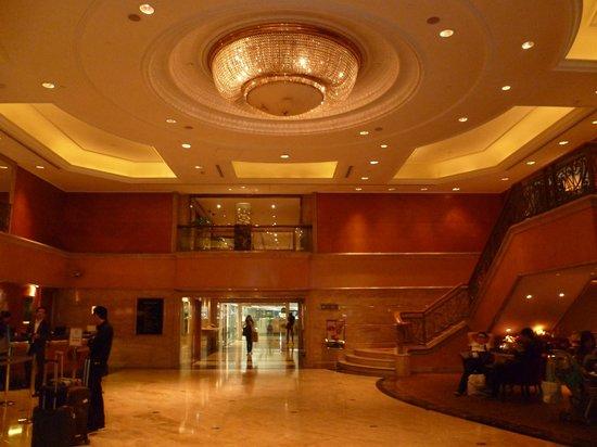 Holiday Inn Golden Mile Hong Kong : The foyer