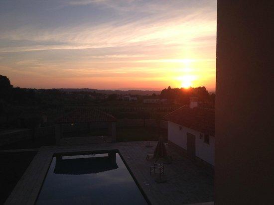 Madre De Agua Hotel Rural: Sunset