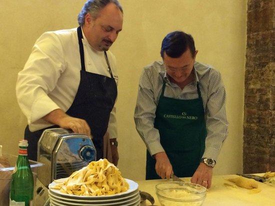 Castello del Nero Boutique Hotel & Spa: Cooking classes