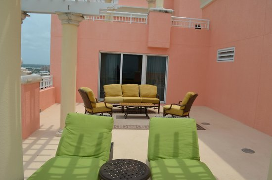 Hyatt Regency Clearwater Beach Resort & Spa: View of Our Terrace