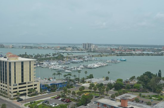 Hyatt Regency Clearwater Beach Resort & Spa: View of the Marina from our Terrace