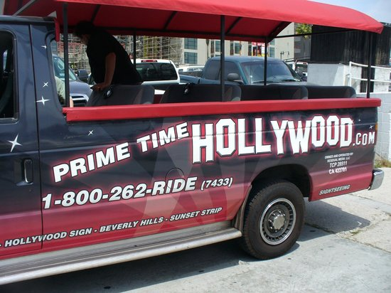 Prime Time Hollywod Tours