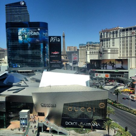 Mandarin Oriental, Las Vegas : view from our room