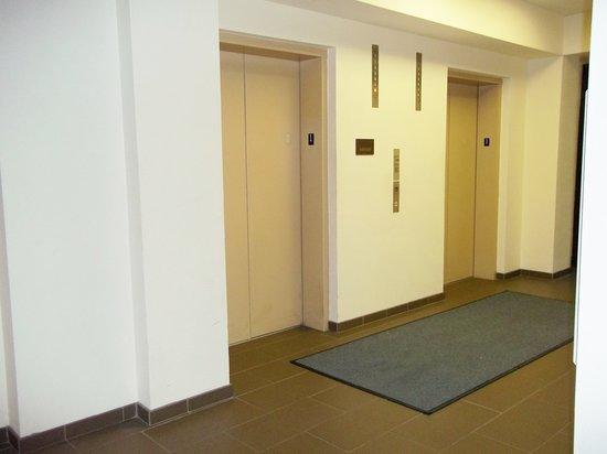 University Inn Midtown: Elevator Area