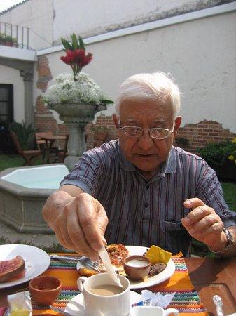 Posada de San Carlos: Mi papa