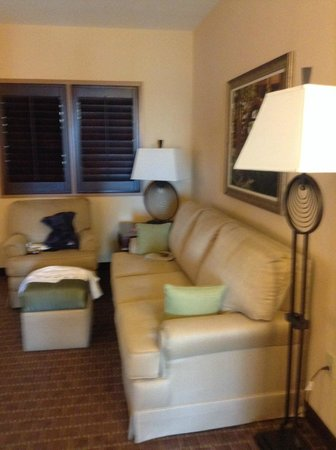 Embassy Suites by Hilton Orlando Lake Buena Vista South: Sala do quarto