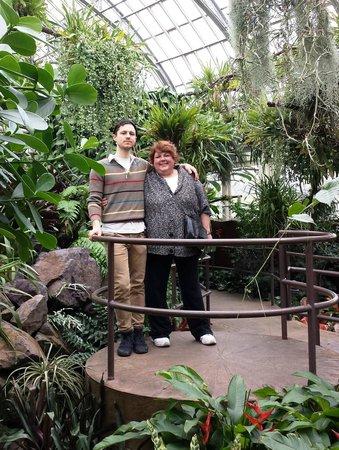 Garfield Park Conservatory: Son & Mom