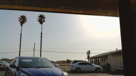 Best Western El Rancho: view from window