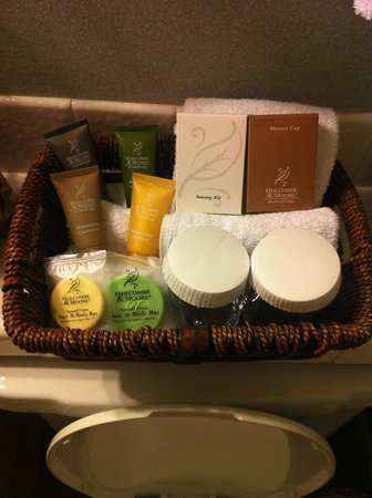 Inn at Pasatiempo: Toiletries