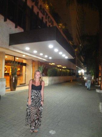 Braston Hotel Sao Paulo: entrada al hotel