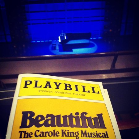 Beautiful -  The Carole King Musical: Just about to begin