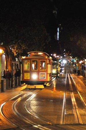 The Herbert Hotel: The Powell Street Tram